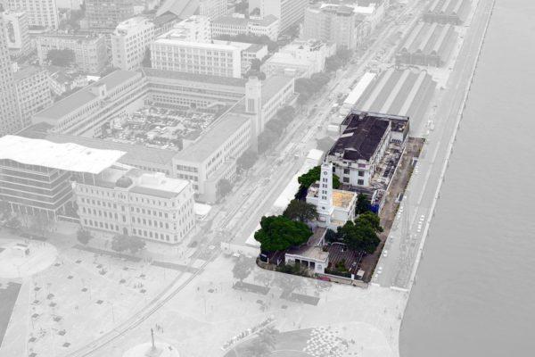 Área do Edifício Touring que abrigará o Mercado do Porto Carioca