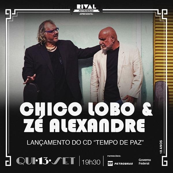 Encontro inédito marca a parceria do violeiro Chico Lobo com o cantor e músico Zé Alexandre, dois grandes artistas com imensa estrada e atuação na música brasileira.