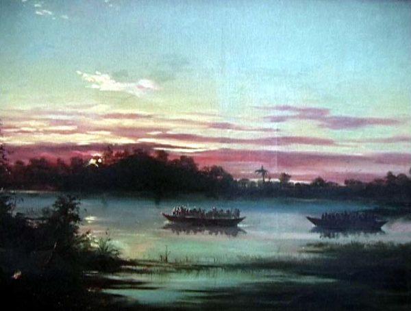 Canoas em Vigília no Chaco (Edoardo de Martino/Divulgação)