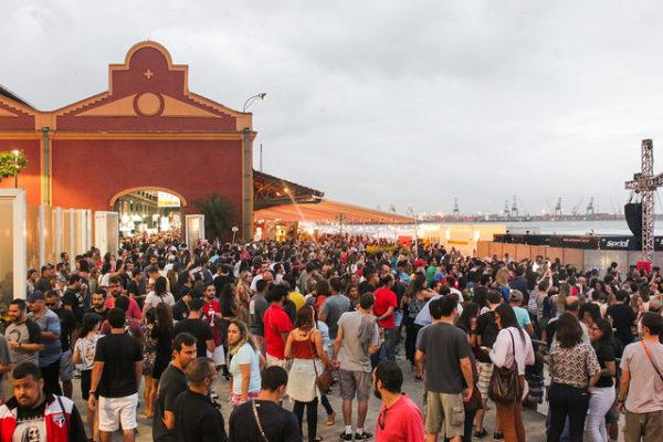 Mondial de La Biére no Píer Mauá