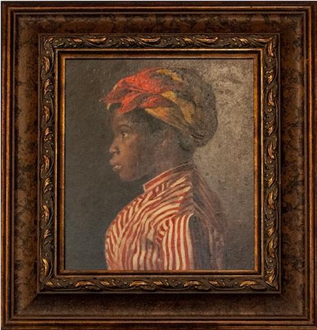 Belmiro de Almeida - Figura de jovem negra, década de 1880_Foto-DanielaPaoliello-2