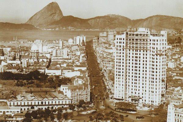 edifício A Noite, por volta de 1929