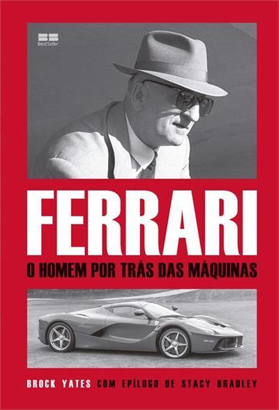 Livro Ferrari O homem por trás das máquinas