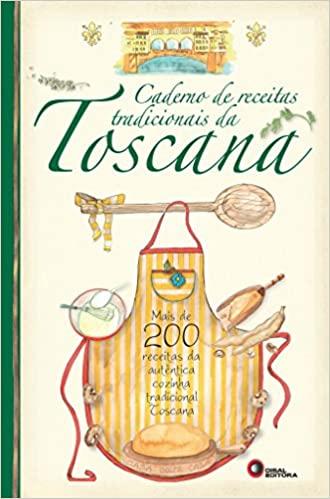 Livro Caderno de receitas tradicionais da Toscana