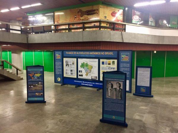 Exposição 70 anos do AA no Brasil