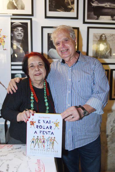 """Rosa Magalhães e seu livro """"E vai rolar a festa"""""""