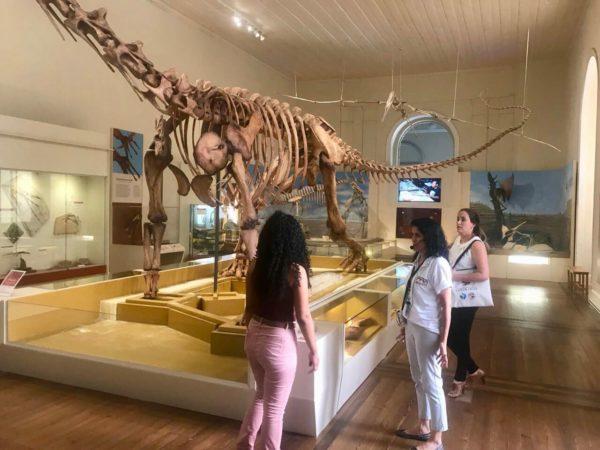 Estudantes visitam Museu Nacional