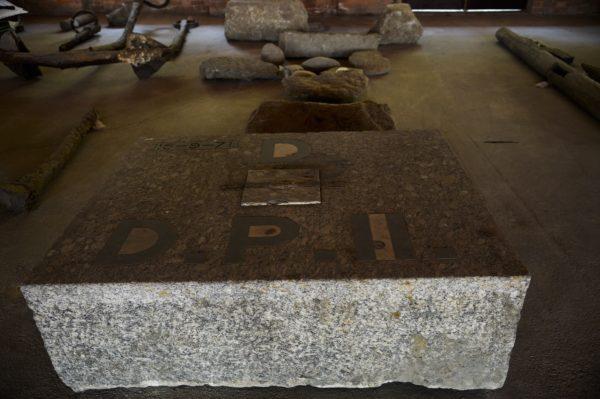 Artefatos arqueológicos do porto