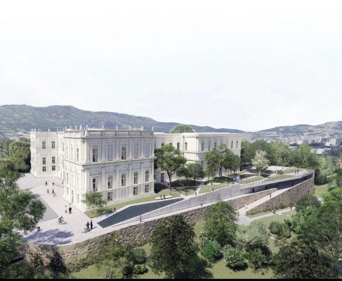Parte externa do Museu Nacional