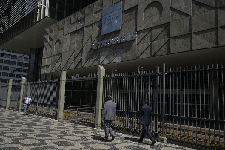 O edifício sede da Petrobras, no centro do Rio